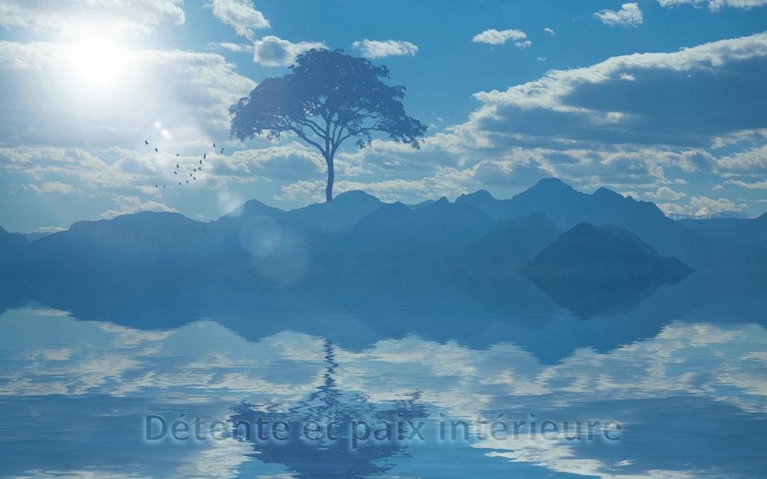 La détente et la paix intérieure